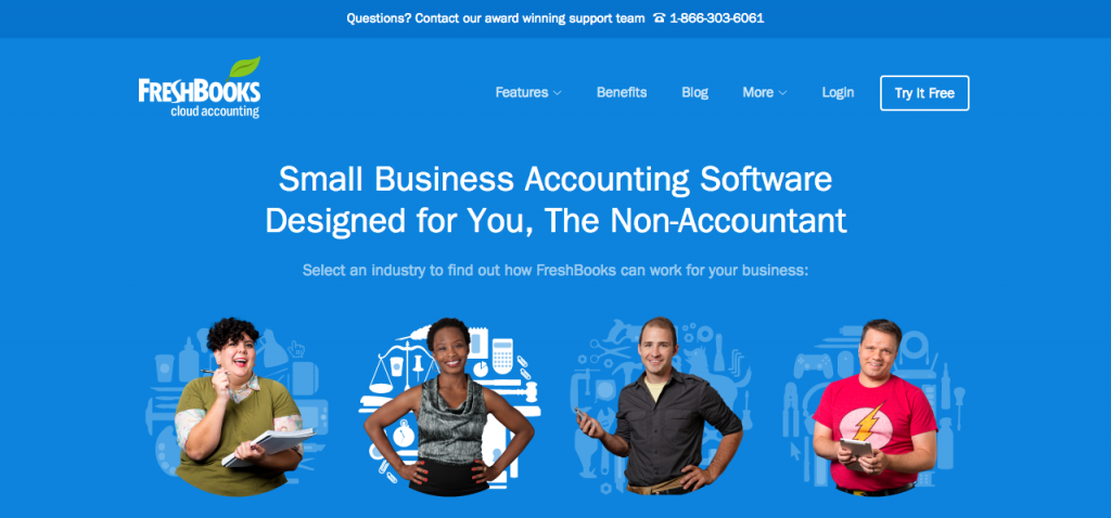 Accounting app for small businesses