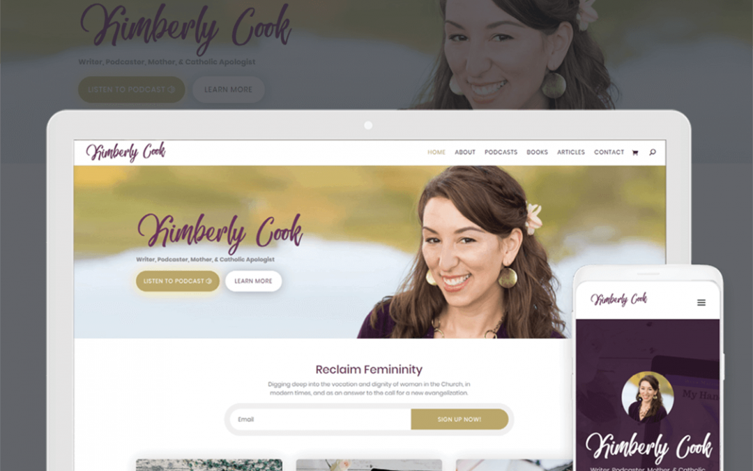 Kimberly Cook Website by Enable
