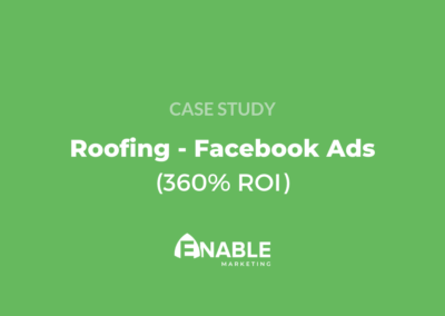 Roofing Facebook Ads Case Study