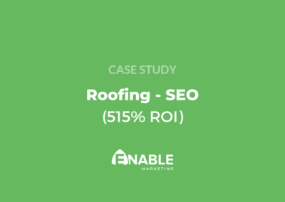 Roofing SEO Case Study